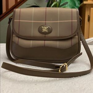 Vintage Burberry Crossbody Bag